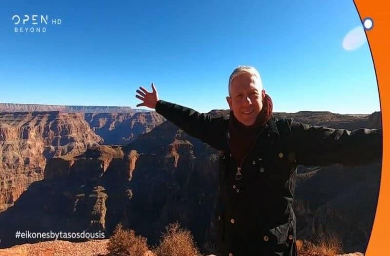 Εικόνες: Εντυπωσίασε ο Τάσος Δούσης με την πρεμιέρα του στο Open tv! (Βίντεο)