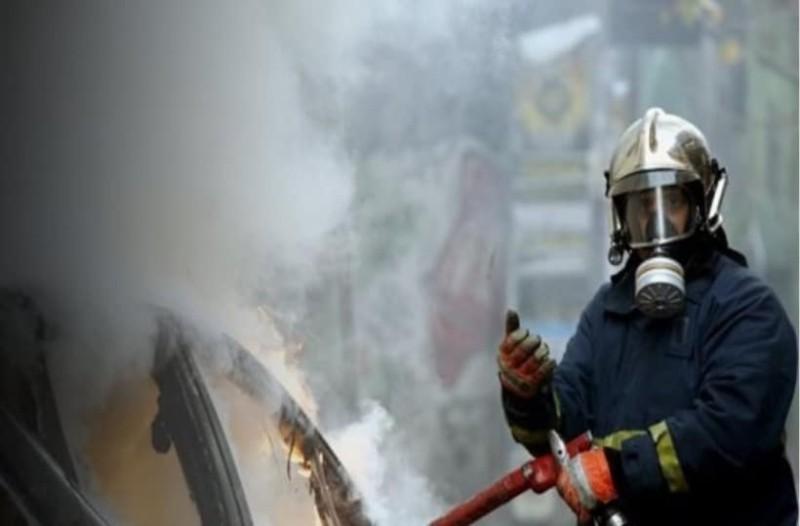 Εθνική οδός Αθηνών - Λαμίας: Φωτιά σε αυτοκίνητο!