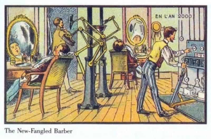 Πριν από 100 χρόνια ζήτησαν από καλλιτέχνες να ζωγραφίσουν τον κόσμο του 2000. Αυτά ήταν τα αποτελέσματα!