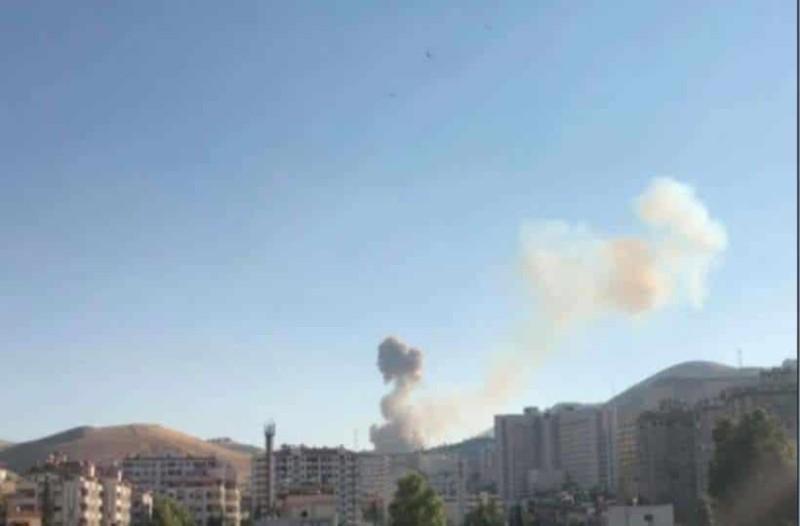 Συρία: 8 τραυματίες από την έκρηξη στην Δαμασκό!