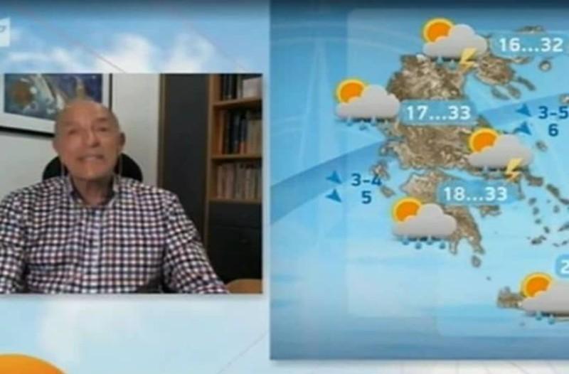 Έκτακτη προειδοποίηση από τον Τάσο Αρνιακό: «Η θερμοκρασία θα αγγίξει τους 40 βαθμούς»!