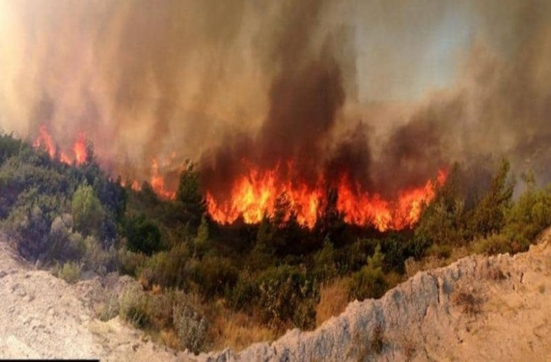 Φωτιά μαίνεται σε Καλάβρυτα και Αίγινα!