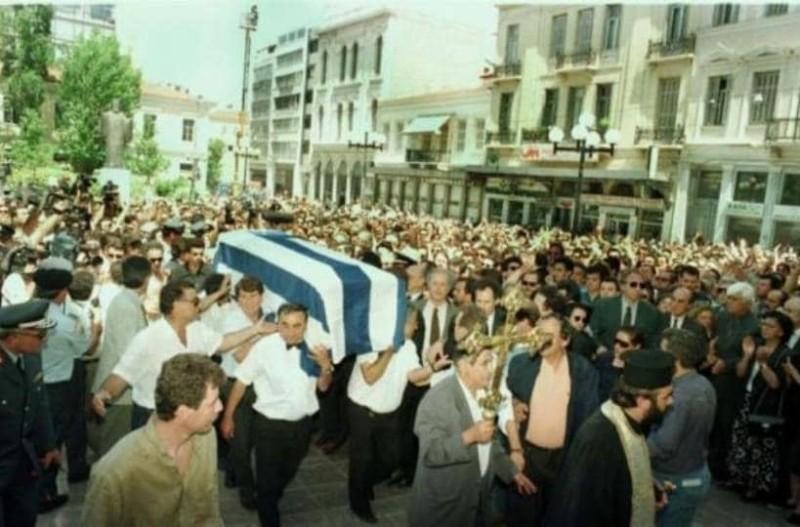 Τι διαφορετικό είχε η κηδεία του Ανδρέα Παπανδρέου, που έγινε σαν σήμερα στις 26 Ιουνίου 1996;