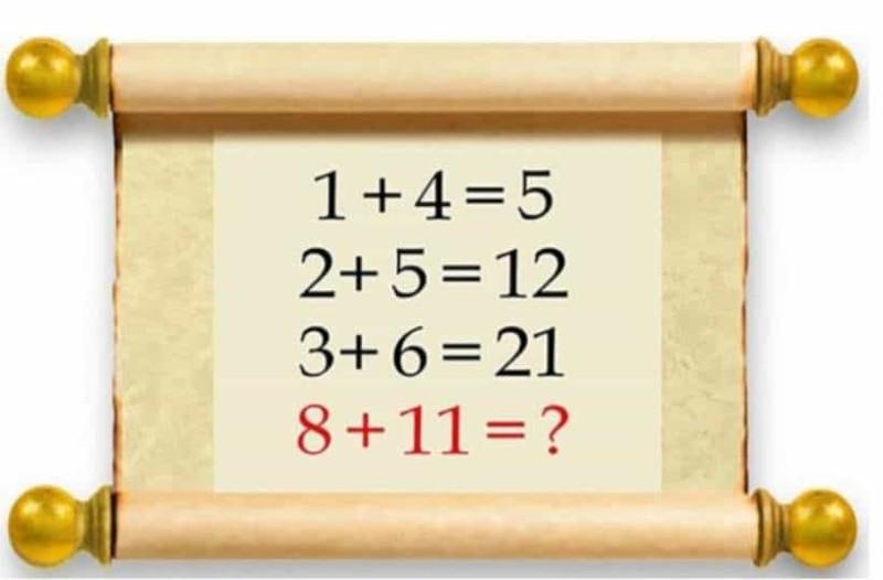 Μπορείτε να λύσετε αυτό το κουίζ; - Βλέπετε το λάθος;