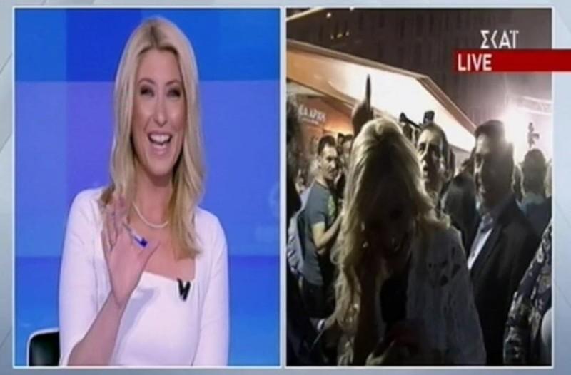 Η Σία Κοσιώνη απειλεί τον Κώστα Μπακογιάννη! - Τον προκάλεσε on camera! (Video)