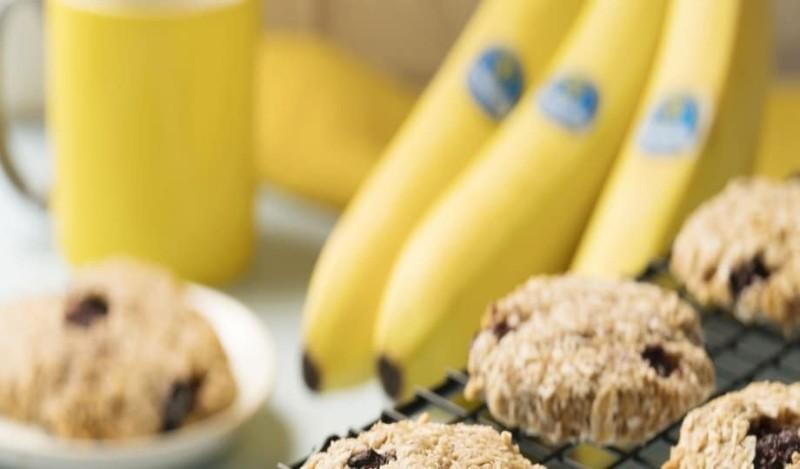 Μαλακά μπισκότα με μπανάνα χωρίς ζάχαρη!