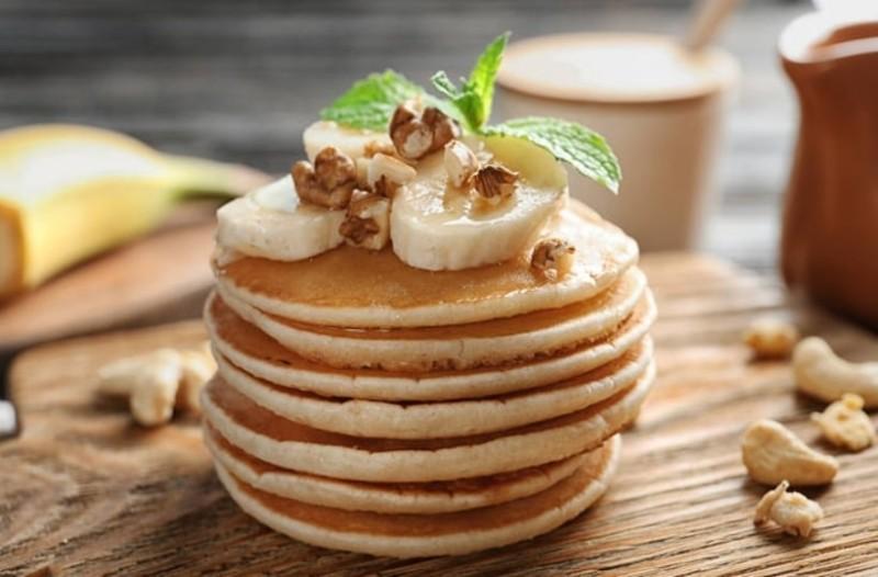 Πεντανόστιμα Pancakes μπανάνα!