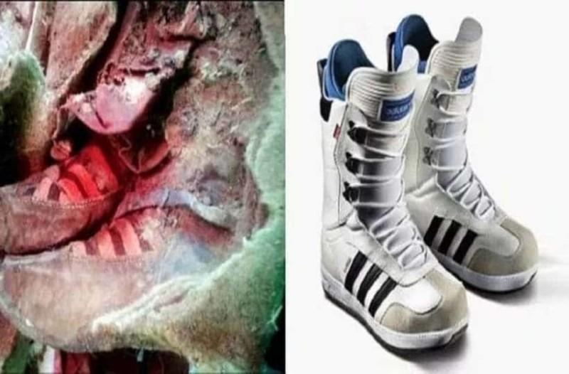 Βρέθηκε μούμια 1000 ετών που «φορούσε» Adidas και ο κόσμος νομίζει ότι πρόκειται για ταξίδι στο μέλλον!