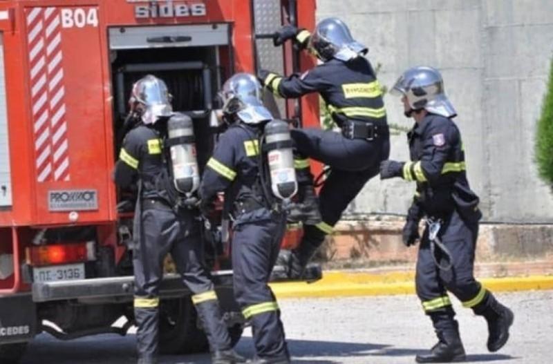 Συναγερμός στην Κρήτη: Φωτιά στο Ηράκλειο!