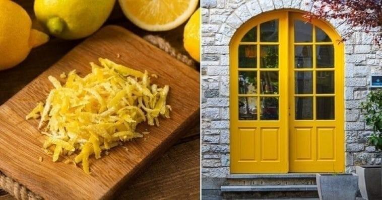 Εσύ βάζεις έξω από την εξώπορτα σου φλούδες από λεμόνια;