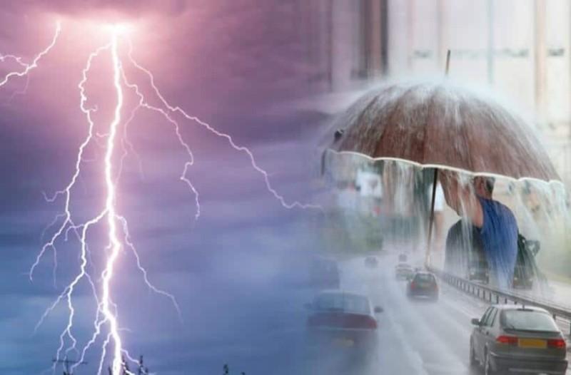 Έκτακτο δελτίο καιρού: Ισχυρές καταιγίδες, χαλάζι και θυελλώδεις άνεμοι θα