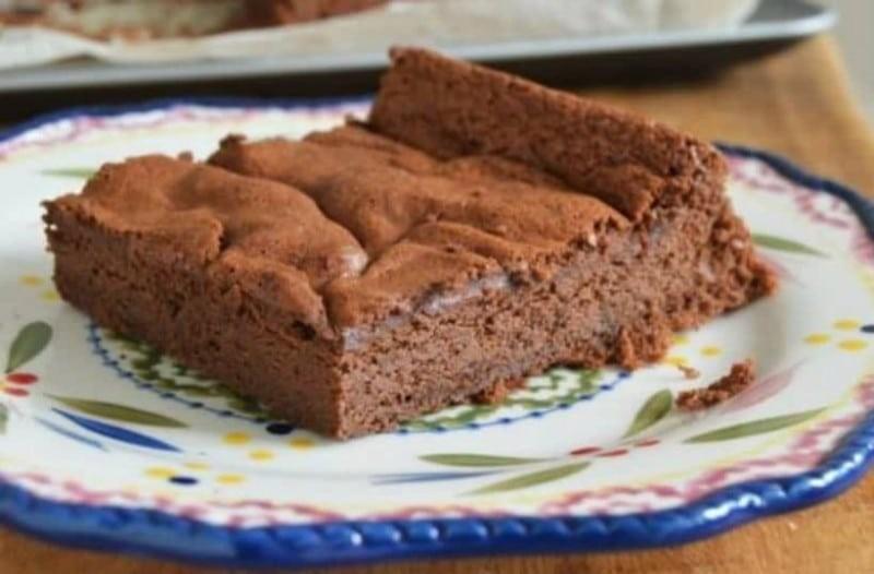 Σοκολατένιο κέικ με δύο υλικά!
