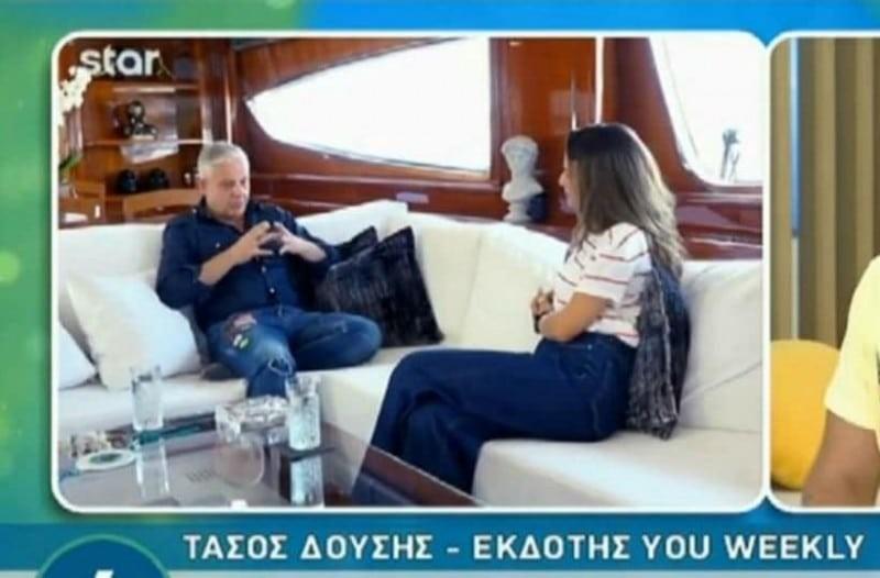 Κου - Κου: Σάρωσε στην τηλεθέαση η συνέντευξη του Τάσου Δούση στο STAR!