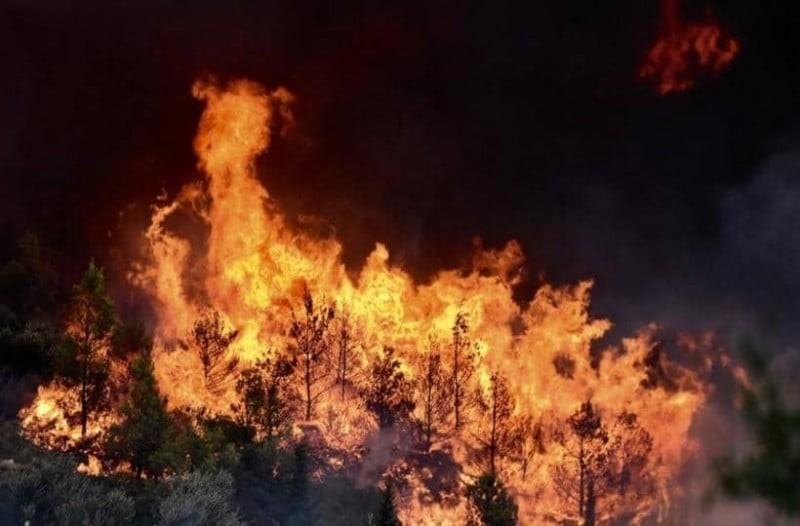 Πυρκαγιά στον Ασπρόπυργο!