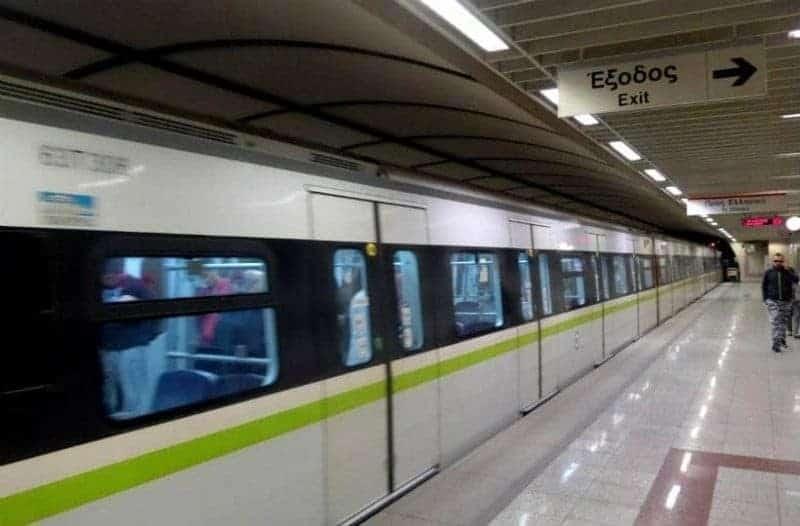 Κανονικά τα δρομολόγια του μετρό στη διαδρομή Ακρόπολη-Σύνταγμα!