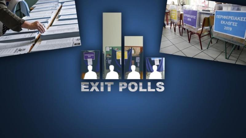Διέρρευσαν τα πρώτα exit polls