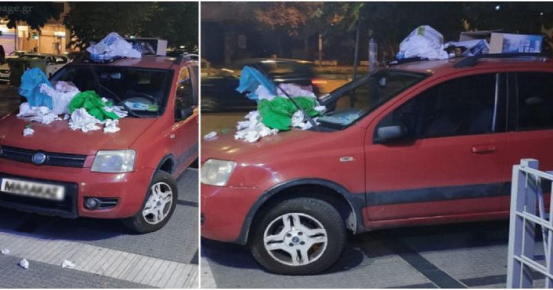 Θεσσαλονίκη: Πάρκαρε το αυτοκίνητό του
