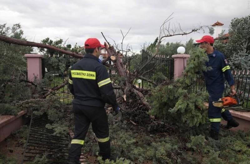Χαλκιδική: Αγώνας δρόμου για να αποκατασταθούν οι υποδομές της περιοχής!