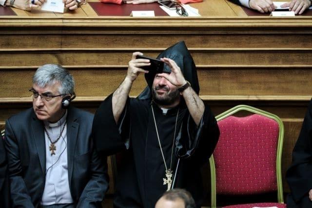 Ιερέας Βουλή κυβέρνηση