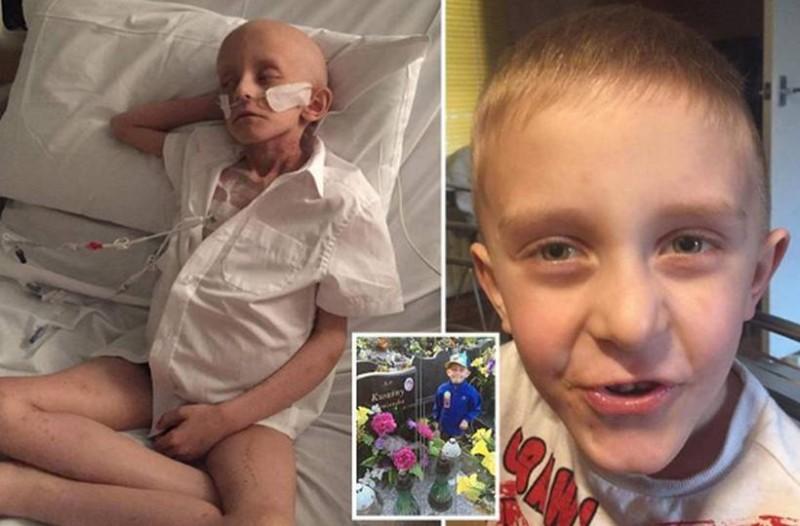 «Θάψτε με στο φέρετρο με τη μαμά μου»: Η τελευταία επιθυμία ενός 7χρονου καρκινοπαθή!