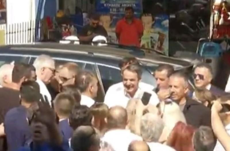 Ψήφισε ο Κυριάκος Μητσοτάκης στο Περιστέρι!
