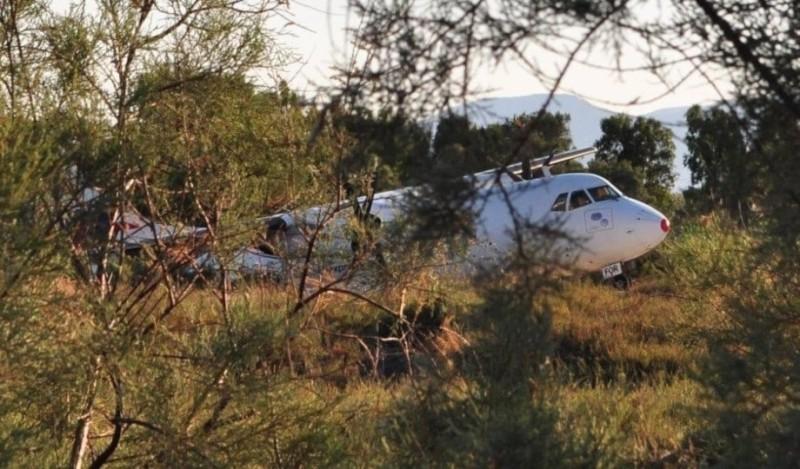 Νάξος: Άνοιξε το αεροδρόμιο - απομακρύνθηκε το αεροπλάνο!