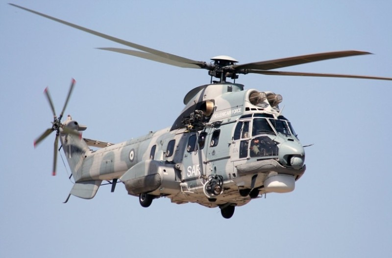 Σεισμός στην Αττική: Περιπολία με super puma και  συντονιστικό ελικόπτερο πάνω από τη Δυτική Αττική!