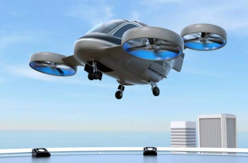 Ιπτάμενα ταξί στο Παρίσι! Ένα πρωτότυπο και φουτουριστικό πρότζεκτ!