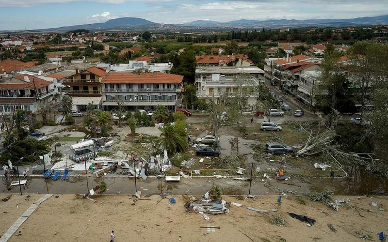 Θεομηνία στη Χαλκιδική: 14 τραυματίες νοσηλεύονται σε νοσοκομεία της Θεσσαλονίκης