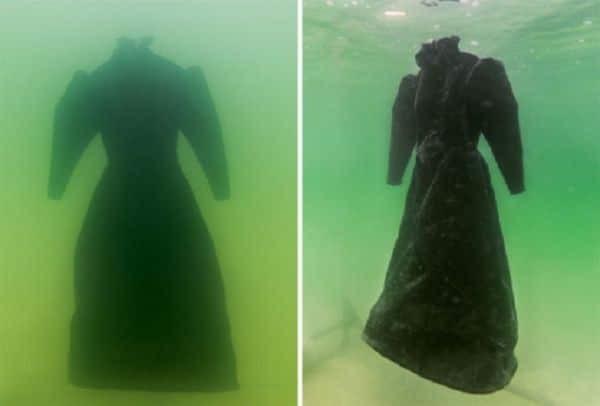 Απίστευτο: Άφησε ένα νυφικό στο βυθό της θάλασσας για δύο χρόνια! Δείτε τι συνέβη... (Photos)