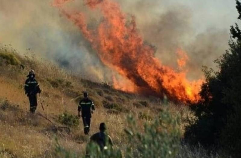 Πυρκαγιές στη Μεσσηνία!