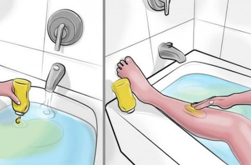 Γέμισε την μπανιέρα με νερό & έριξε μέσα λίγες σταγόνες μουστάρδα! Ο λόγος; Θα το λατρέψετε!