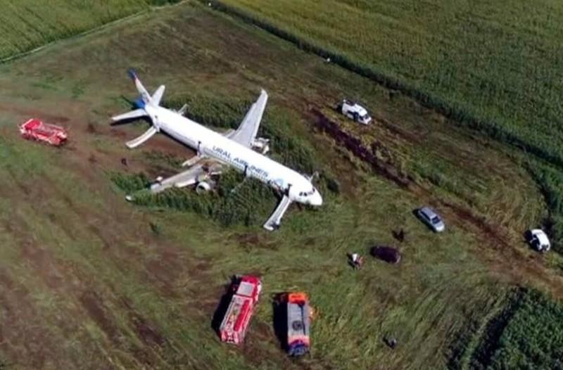 Συγκλονιστικό βίντεο: Η στιγμή της αναγκαστικής προσγείωσης του ρωσικού αεροπλάνου!