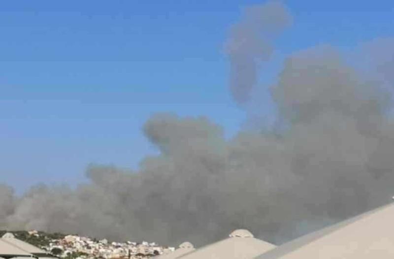 Σάμος: Εκκενώθηκαν ξενοδοχεία από την φωτιά!