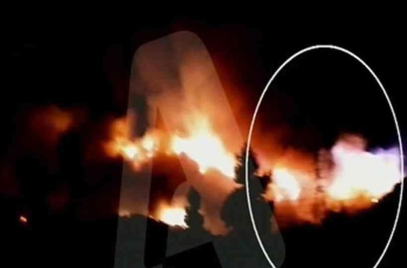 Υμηττός: Καρέ - καρέ η έκρηξη και η μεγάλη φωτιά!
