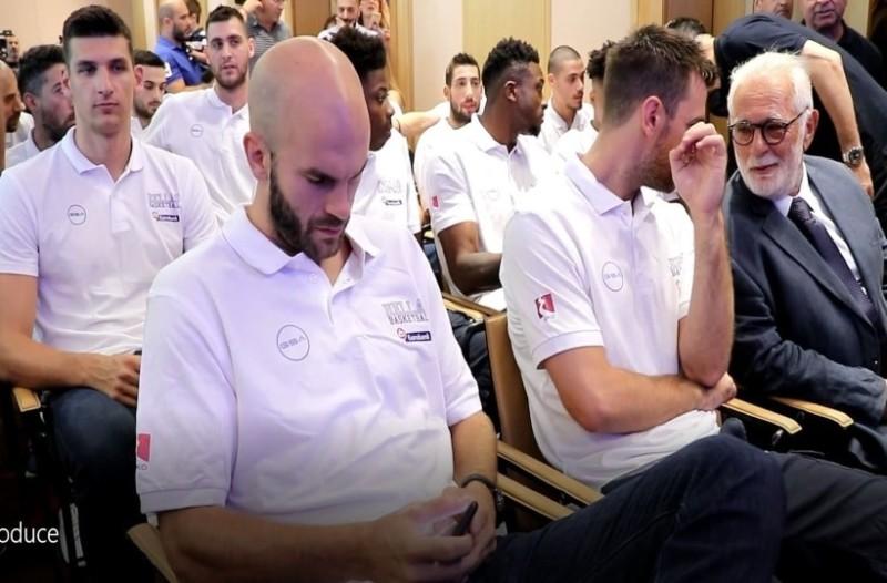 Έγινε η παρουσίαση της εθνικής ομάδας μπάσκετ αντρών! (Video)