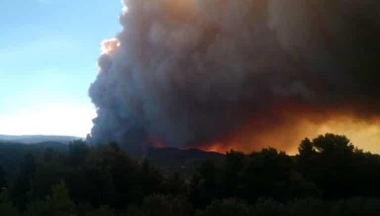Συναγερμός στην Εύβοια: Ξαφνική αναζωπύρωση της φωτιάς!
