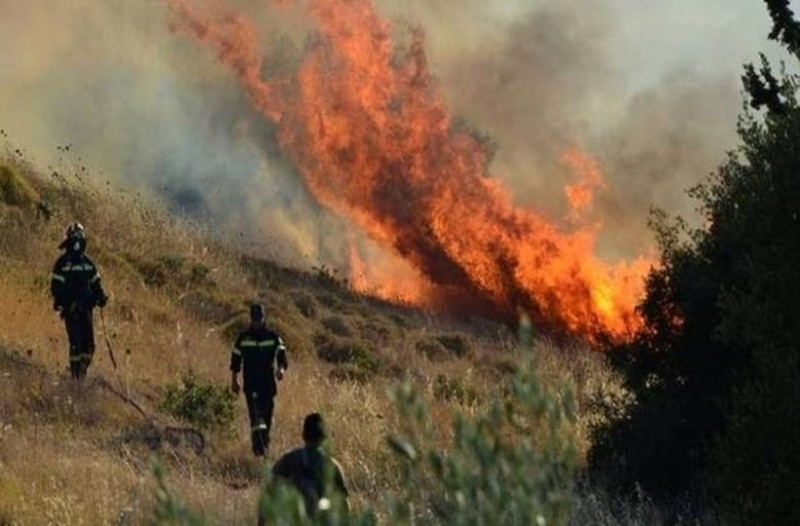 Φωτιά στη Νέα Μανωλάδα!