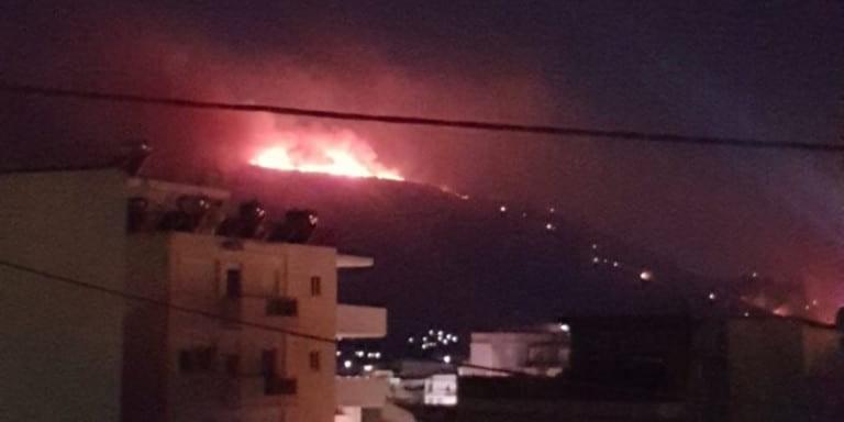 Μαρτυρία κάτοικου για την φωτιά του Υμηττού: Ακούστηκε μία έκρηξη!