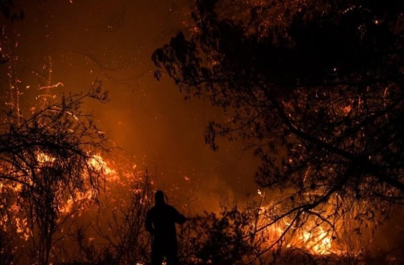 Πυρκαγιές στη νότια Γαλλία: 1000 πυροσβέστες στη μάχη με τις φλόγες! (Video)