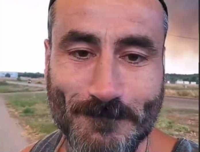 Γιώργος Μαυρίδης: Βρίσκεται στην Εύβοια - Ανατριχιάζουν τα στιγμιότυπα και οι περιγραφές του!