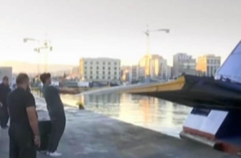Ο πιο άτυχος ταξιδιώτης του καλοκαιριού: Δείτε πως έχασε το πλοίο στο παρά πέντε για την Αστυπάλαια! (Video)