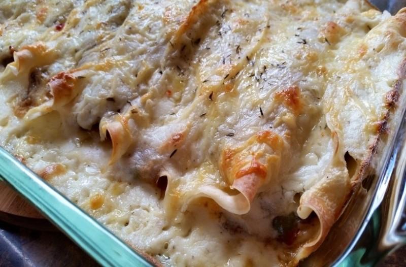 Φανταστικές αλμυρές κρέπες στο φούρνο!
