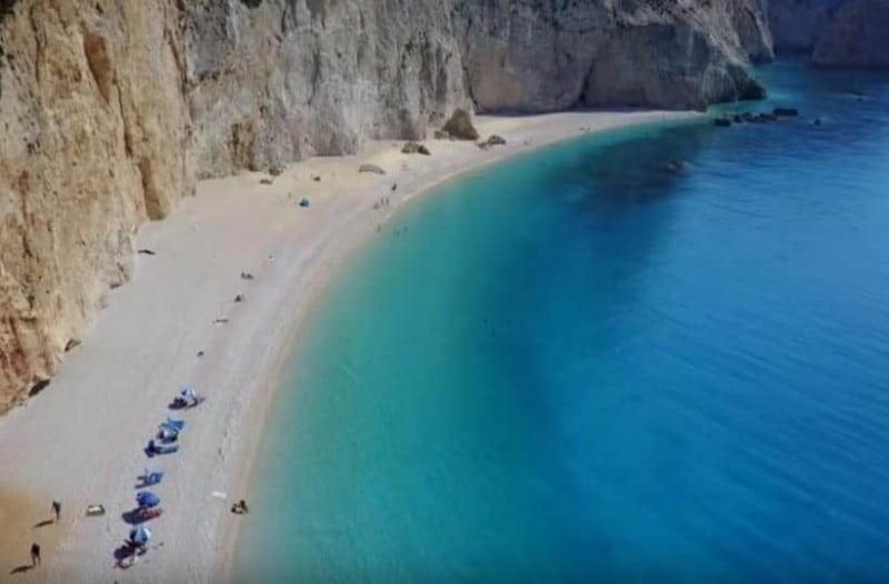 Πόρτο Κατσίκι μια από τις ομορφότερες παραλίες του κόσμου! (Video)