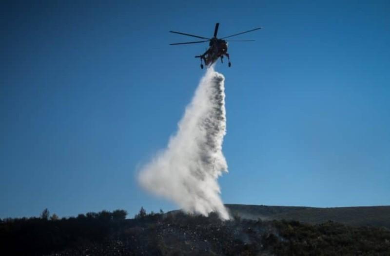 Θάσος: Ξέσπασε φωτιά σε δασική περιοχή!