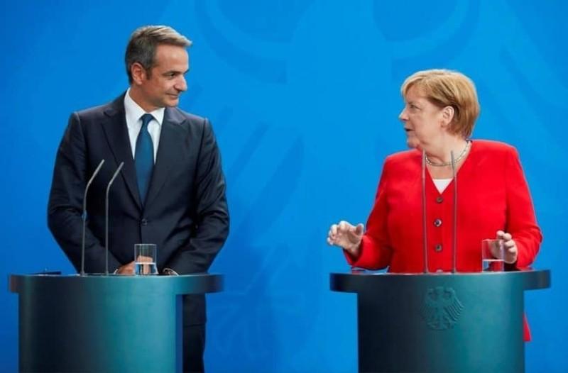 Σχέδιο για επενδύσεις από το Βερολίνο συμφώνησαν Κυριάκος Μητσοτάκης και Μέρκελ!