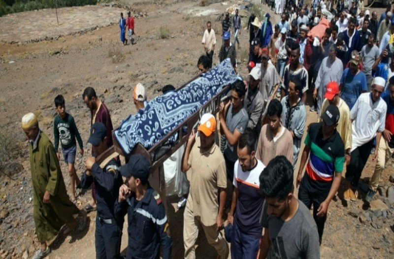 Τραγωδία στο Μαρόκο: Κατέρρευσε γήπεδο από ορμητικά νερά!  Επτά νεκροί! (Video)