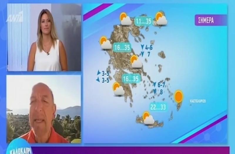 Τάσος Αρνιακός:  Καλός ο καιρός αλλά...! (Video)