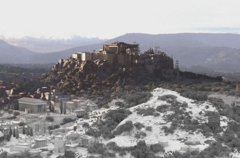 Η Αθήνα 2.000 χρόνια πριν σε ένα καταπληκτικό βίντεο!