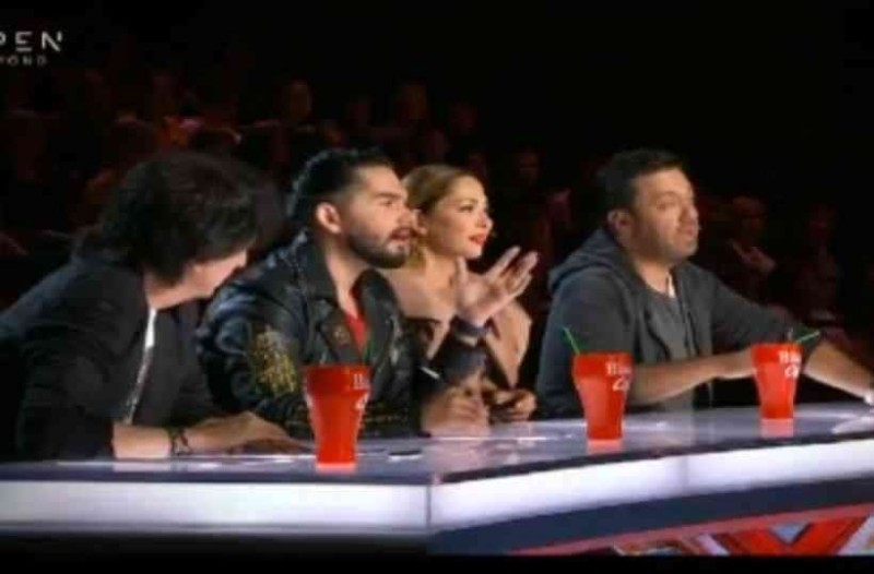 X-Factor: Φαντασμαγορική πρεμιέρα - Η απίστευτη είσοδος των κριτών!